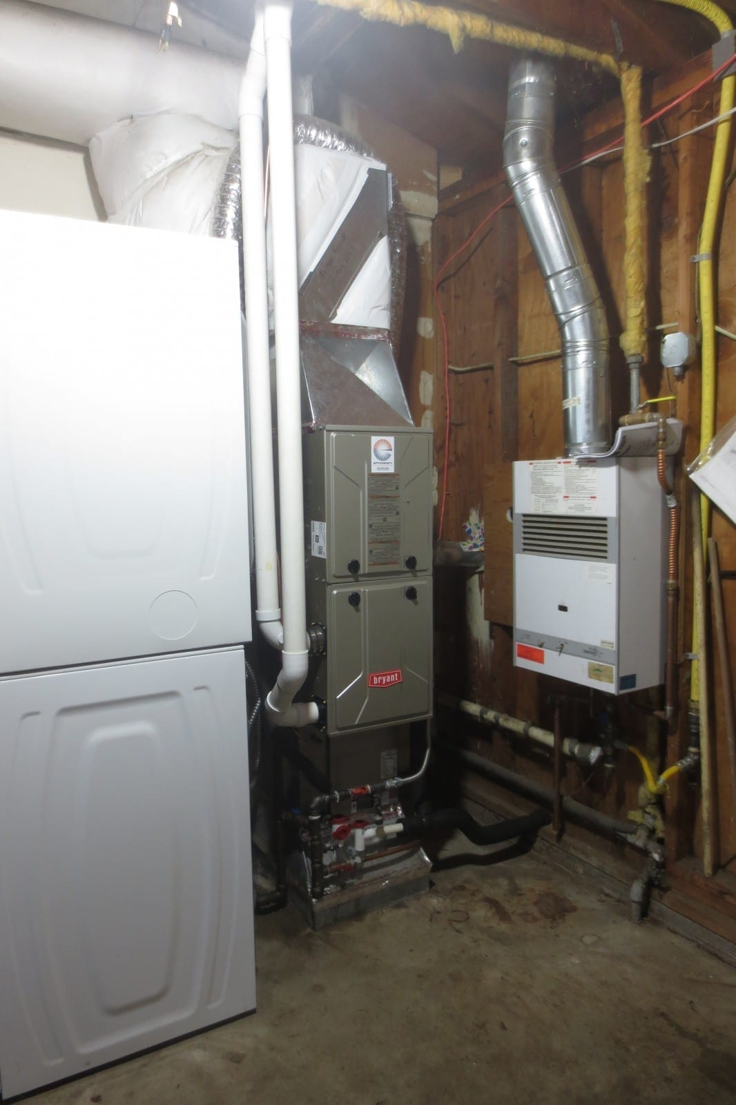 Before and After Photos Efficiency Heating & Cooling #978D34
