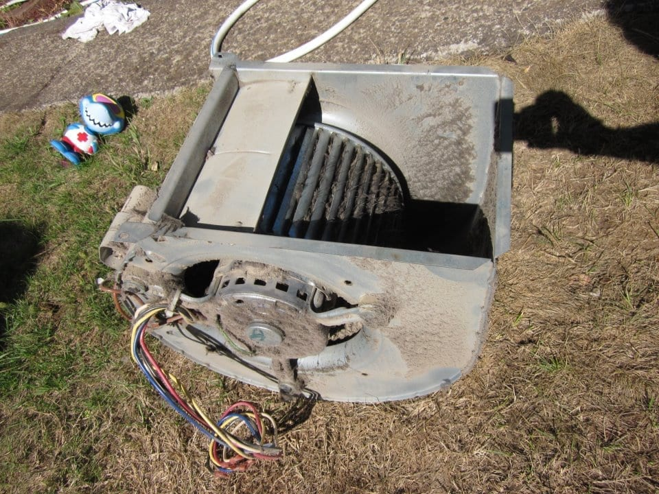 Before and after photos efficiency heating cooling for How to clean a furnace blower motor