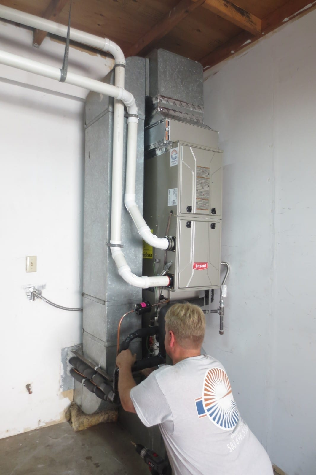 #63493A Job Photos Efficiency Heating & Cooling Best 3143 Gas Air Handler photos with 1066x1600 px on helpvideos.info - Air Conditioners, Air Coolers and more