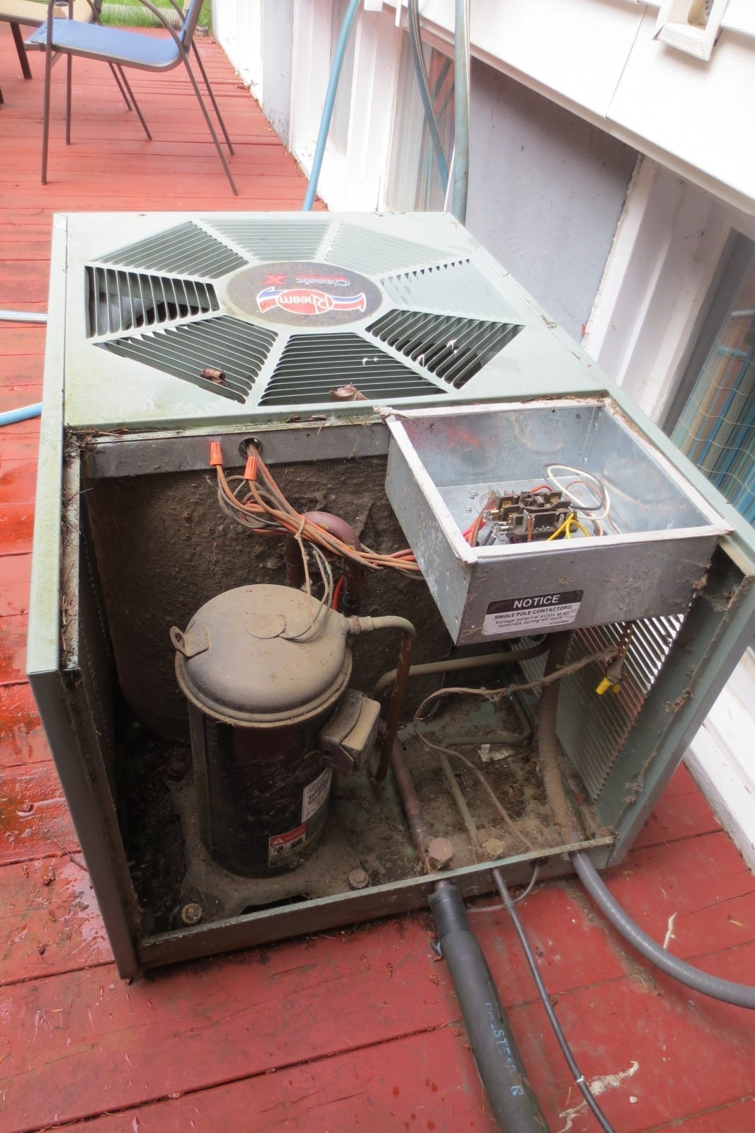 #924339 Before And After Photos Efficiency Heating & Cooling Brand New 7951 Air Conditioner Installation Portland images with 1066x1600 px on helpvideos.info - Air Conditioners, Air Coolers and more