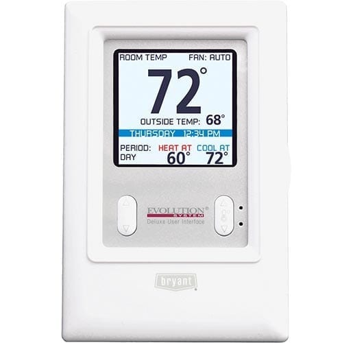 bryant evolution systxbbuid01 b thermostat efficiency heating and rh eheatcool com Bryant Thermostat Installation Manual bryant evolution thermostat control systxbbuid01-b manual